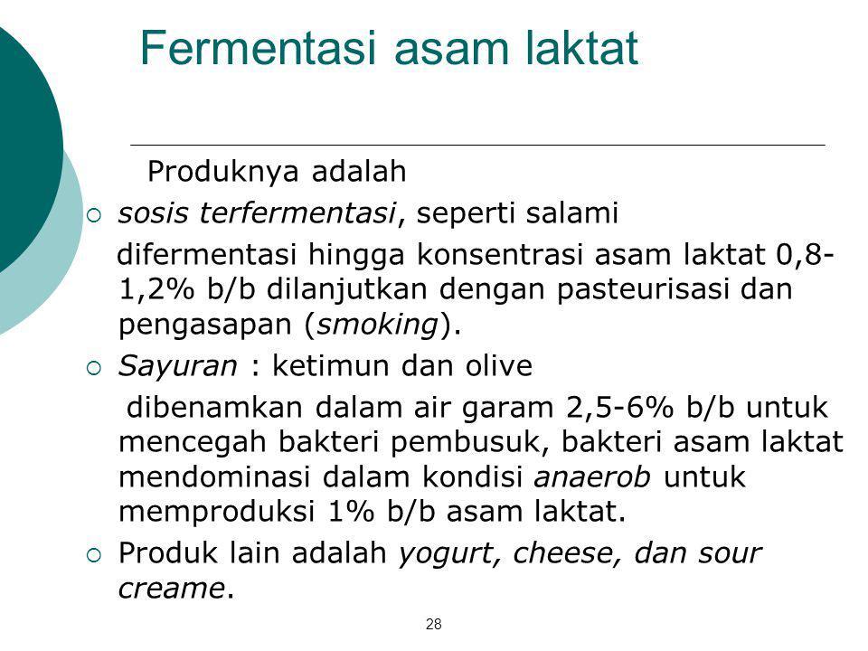 Fermentasi asam laktat
