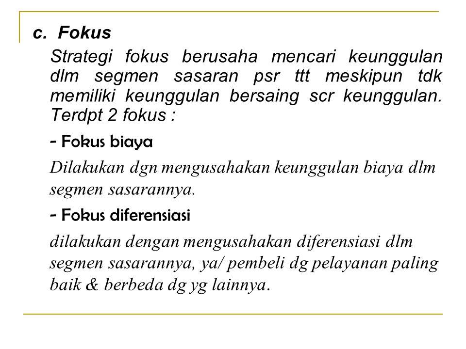 c. Fokus