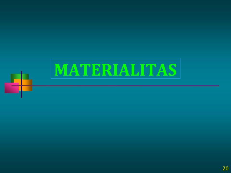 MATERIALITAS 20