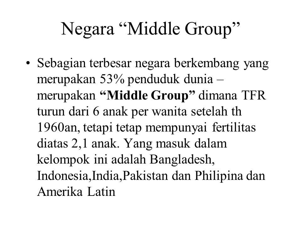 Negara Middle Group