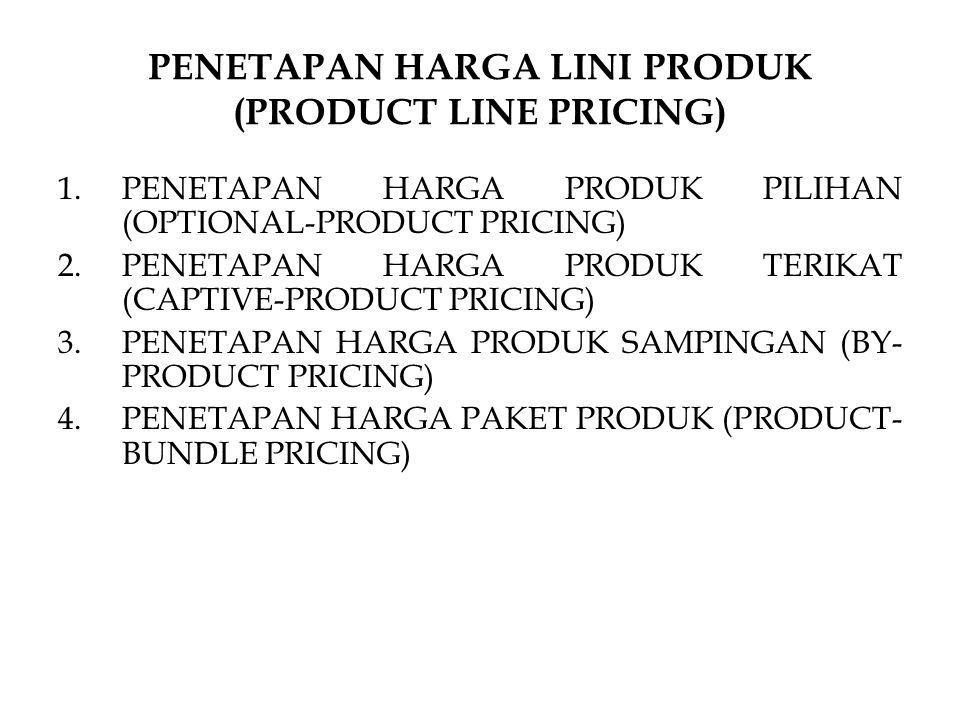 PENETAPAN HARGA LINI PRODUK (PRODUCT LINE PRICING)