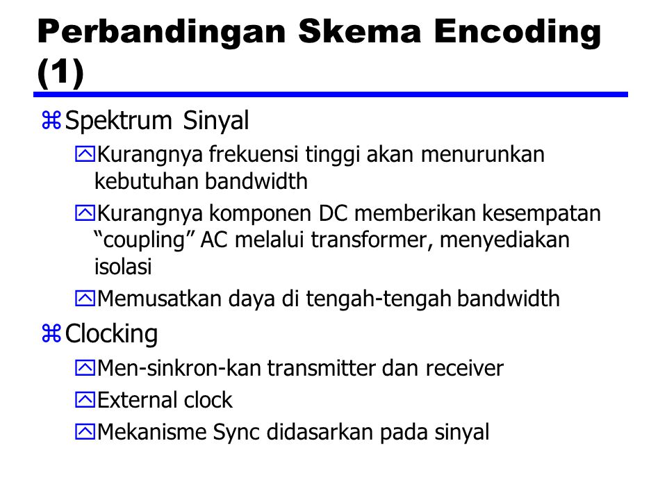Perbandingan Skema Encoding (1)