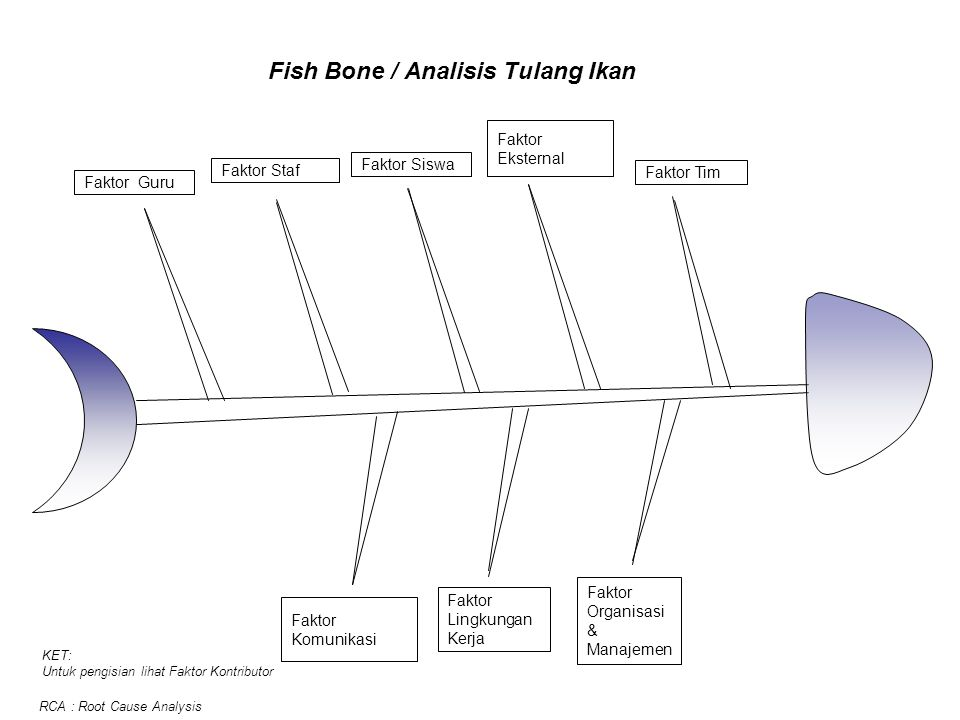 Fish Bone / Analisis Tulang Ikan