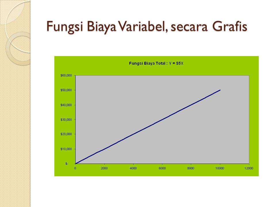 Fungsi Biaya Variabel, secara Grafis