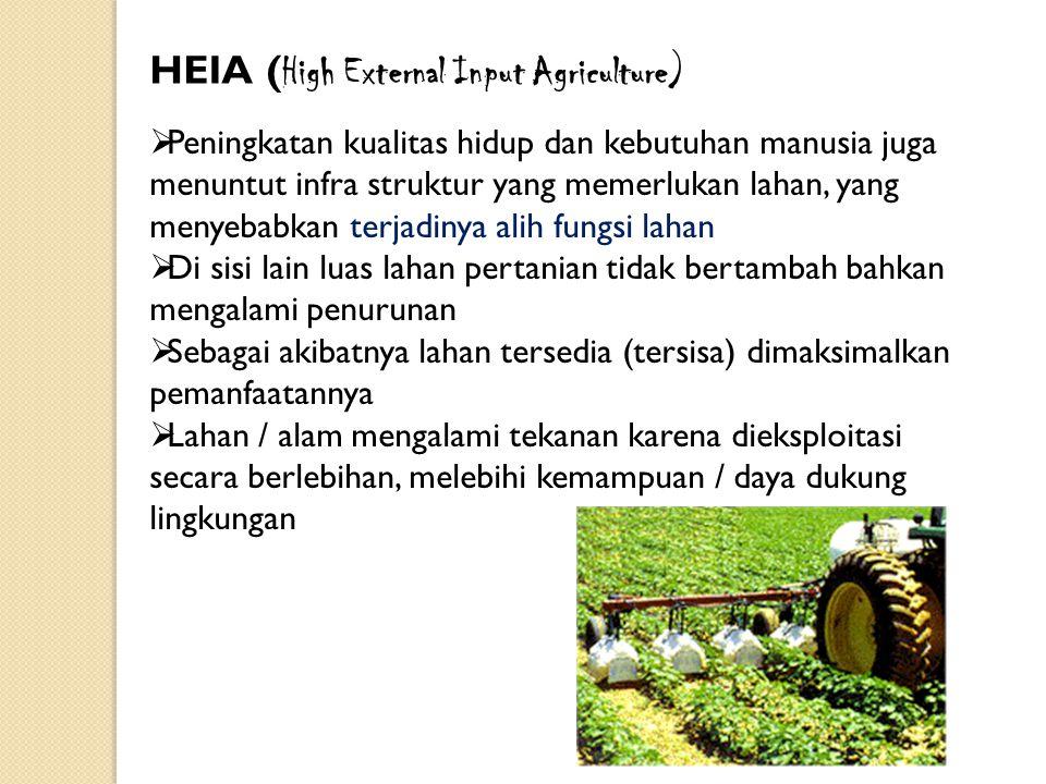 HEIA (High External Input Agriculture)