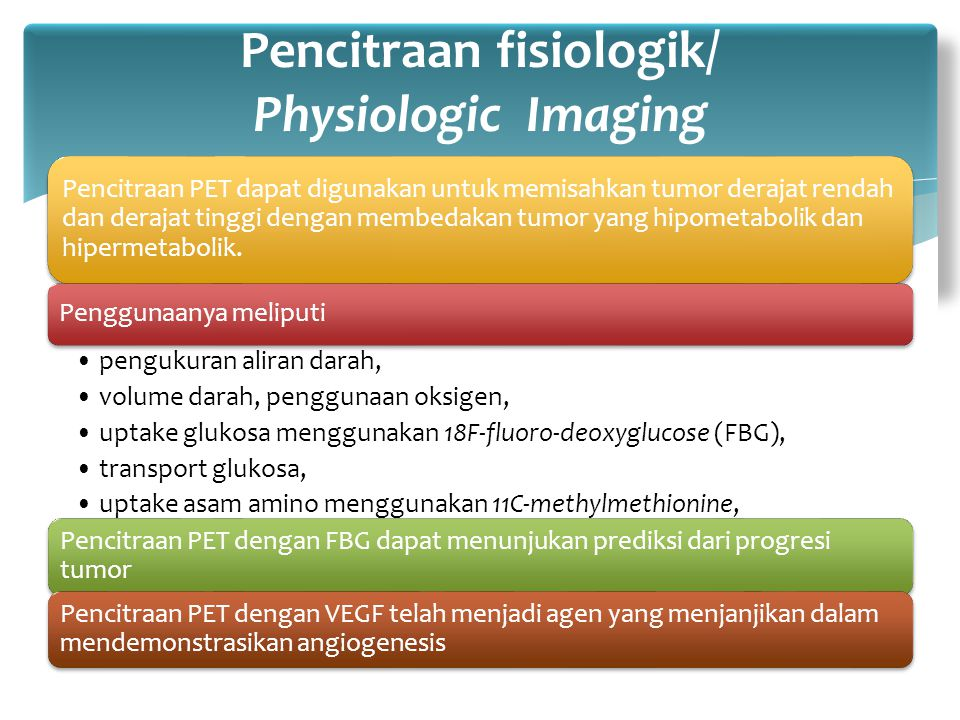 Pencitraan fisiologik/ Physiologic Imaging