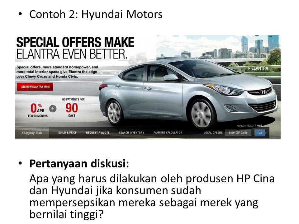 Contoh 2: Hyundai Motors