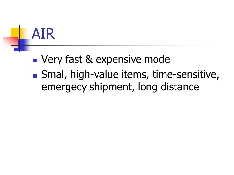 AIR Very fast & expensive mode