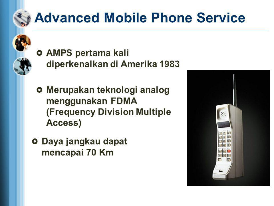 Advanced Mobile Phone Service