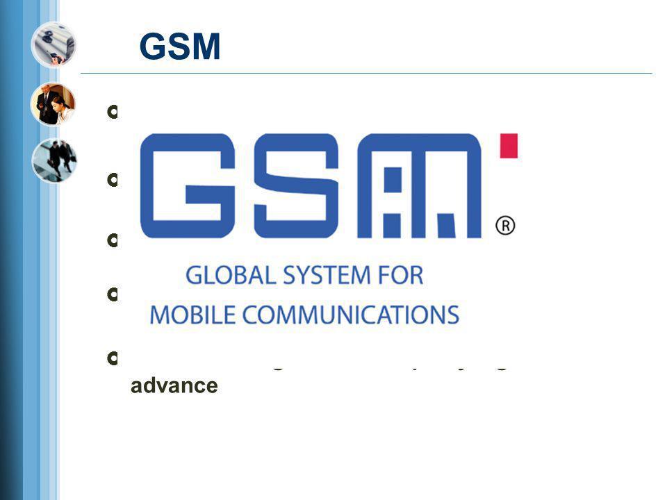 GSM Awalnya bernama Groupe Speciale Mobile pada tahun 1982