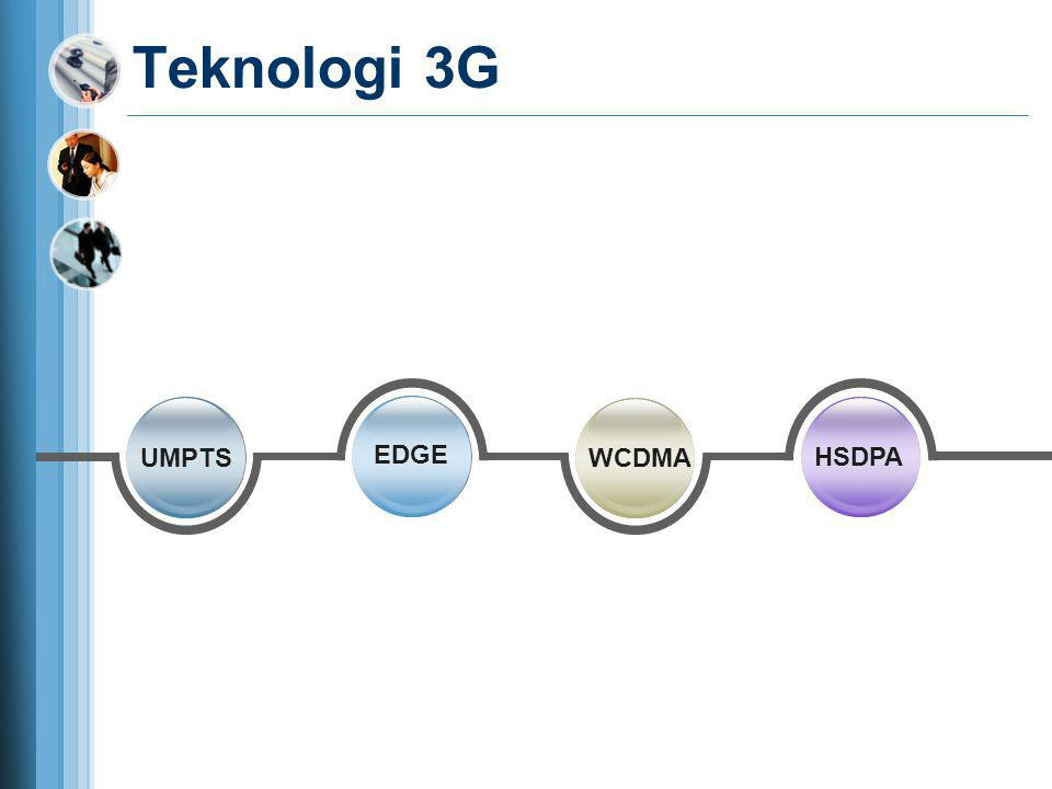 Teknologi 3G UMPTS EDGE WCDMA HSDPA
