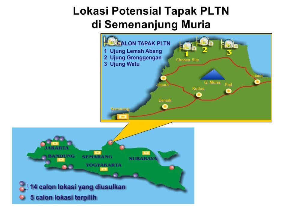 Lokasi Potensial Tapak PLTN di Semenanjung Muria