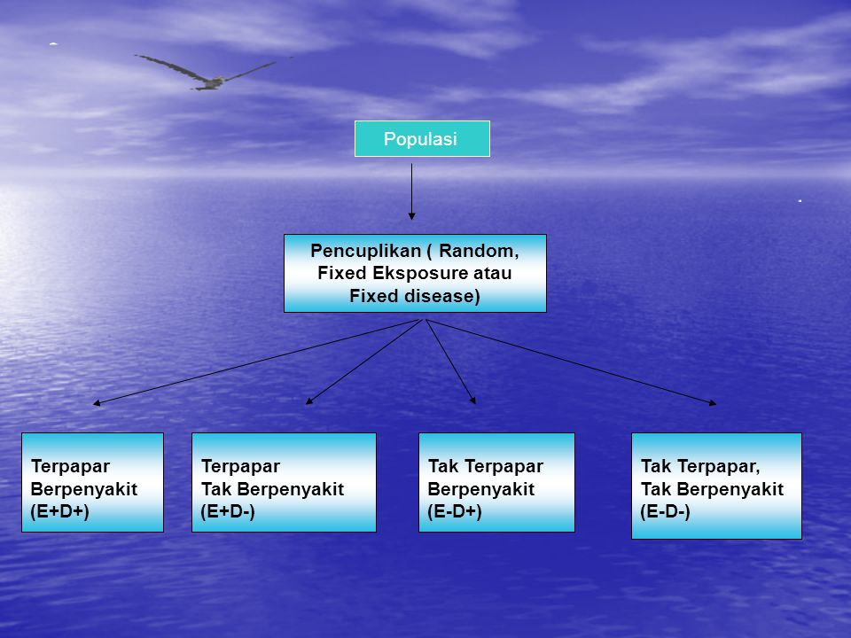 Pencuplikan ( Random, Fixed Eksposure atau Fixed disease)