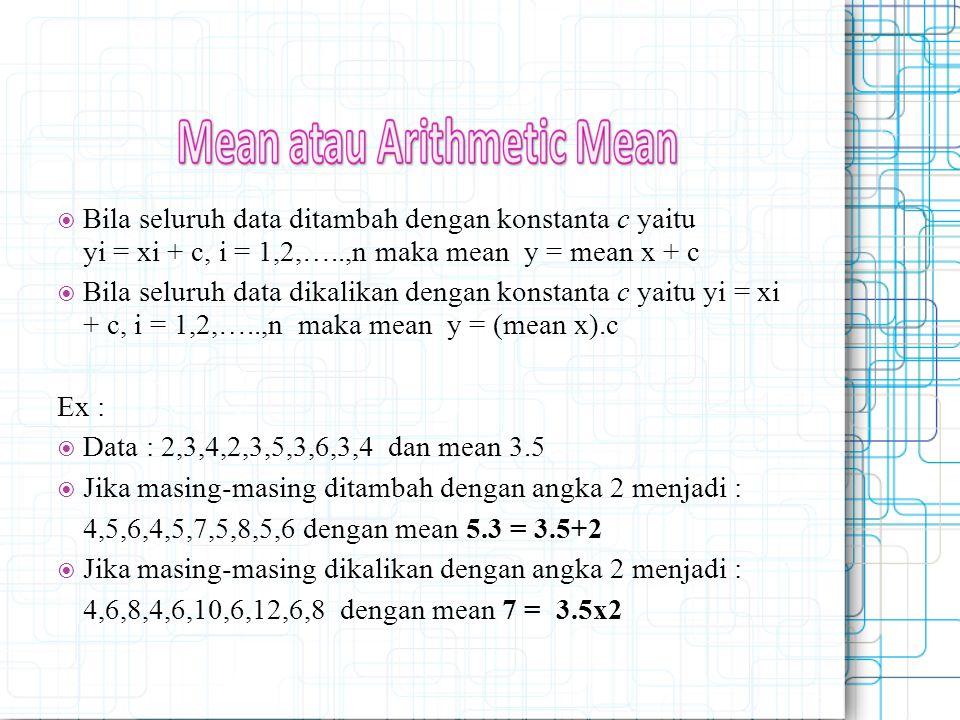 Jika masing-masing ditambah dengan angka 2 menjadi :