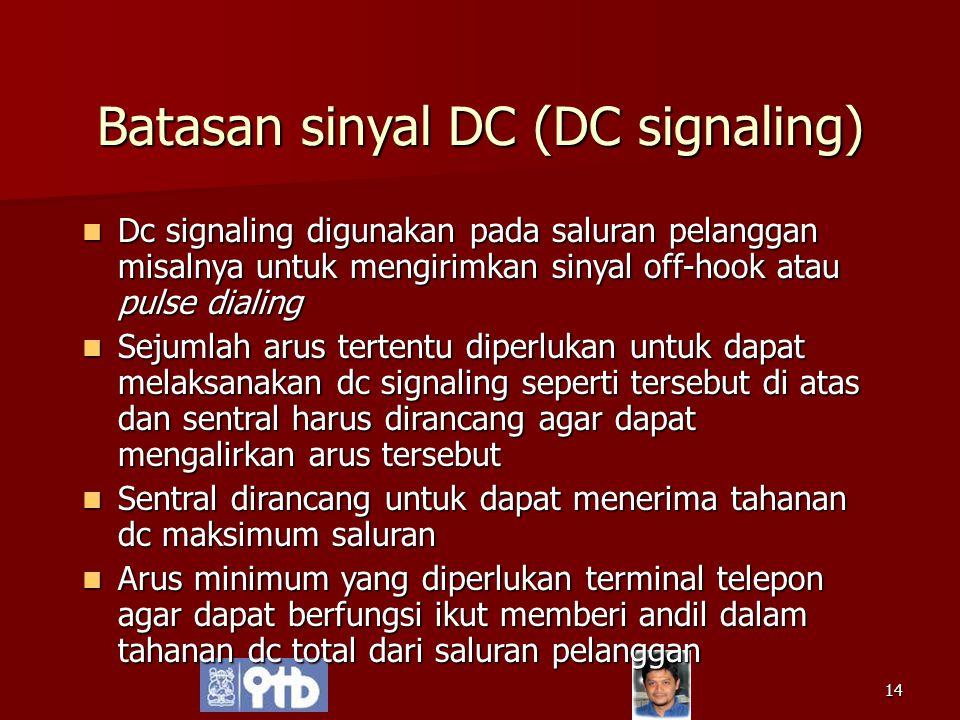 Batasan sinyal DC (DC signaling)