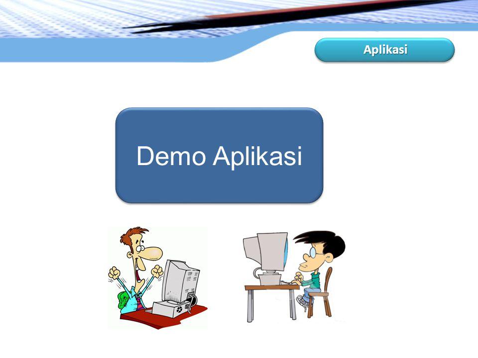 Aplikasi Demo Aplikasi
