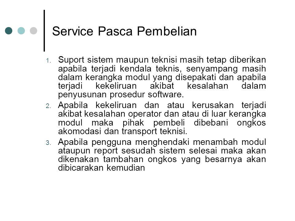 Service Pasca Pembelian