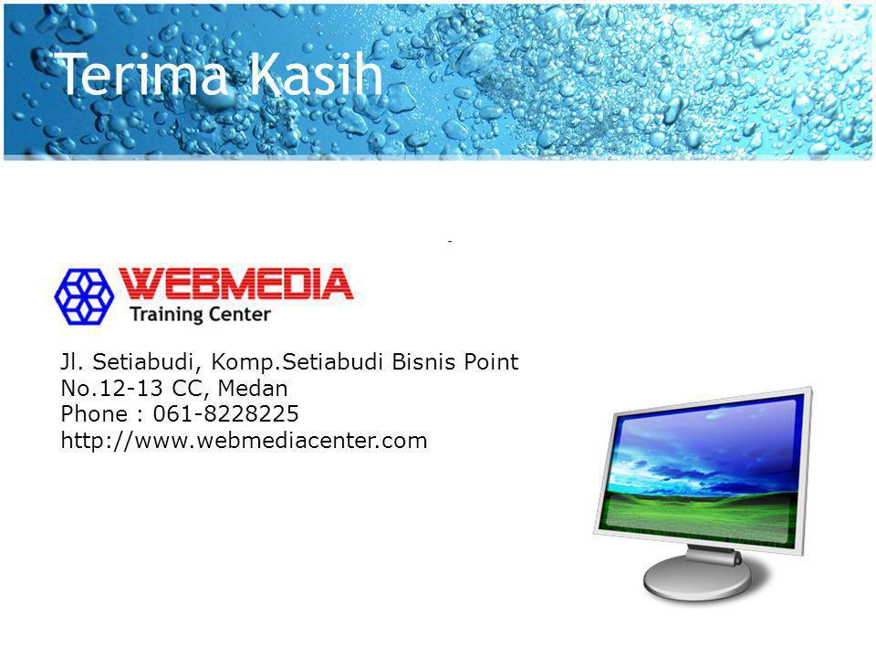 Terima Kasih Jl. Setiabudi, Komp.Setiabudi Bisnis Point No.12-13 CC, Medan.