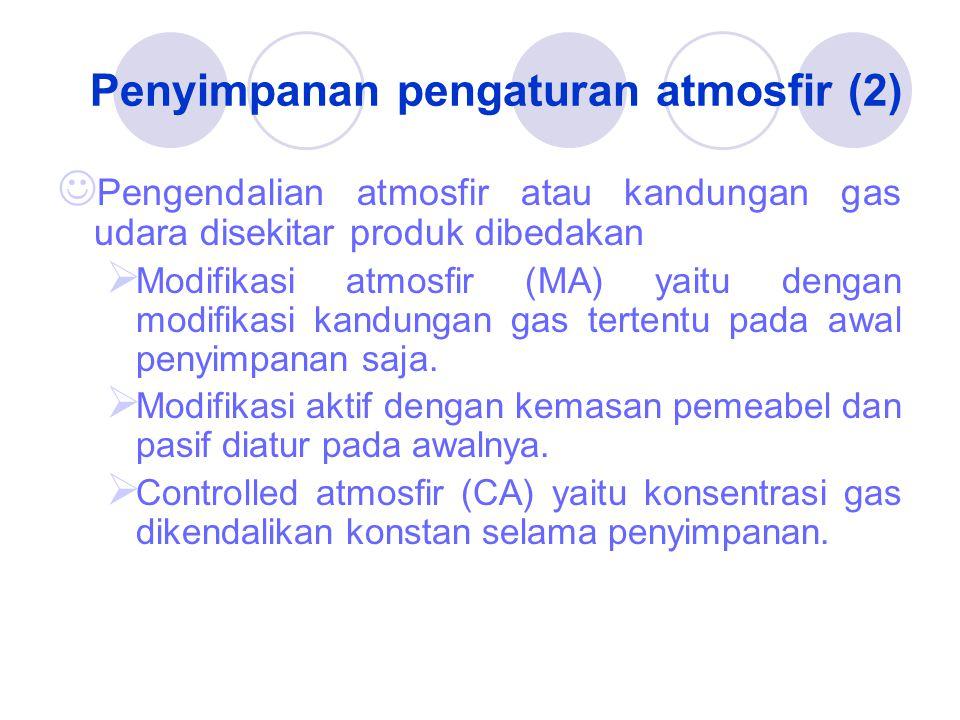 Penyimpanan pengaturan atmosfir (2)