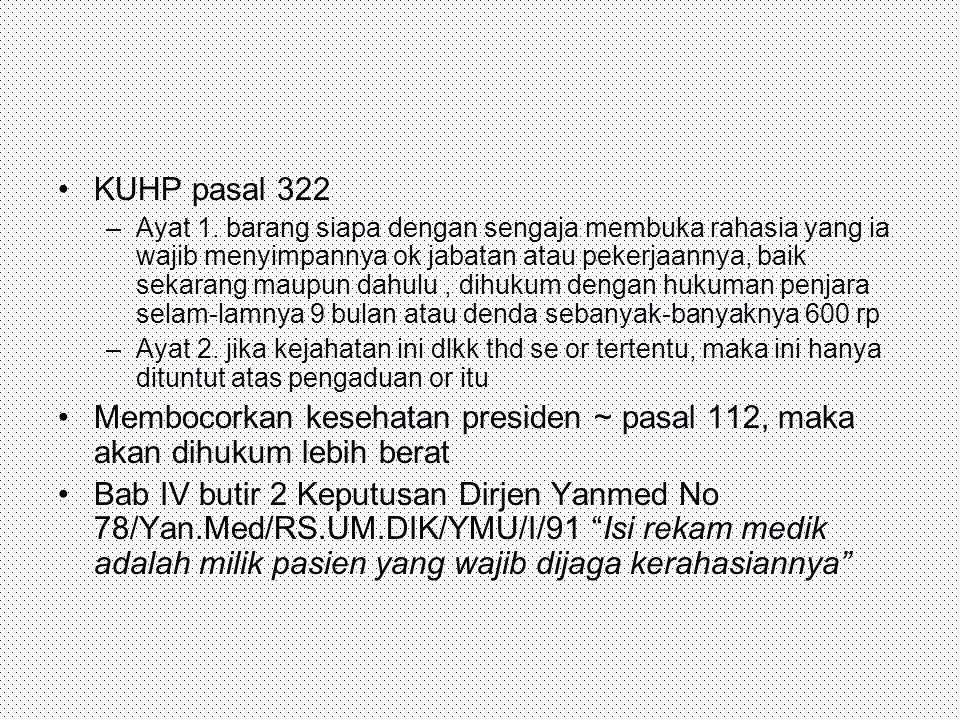 KUHP pasal 322