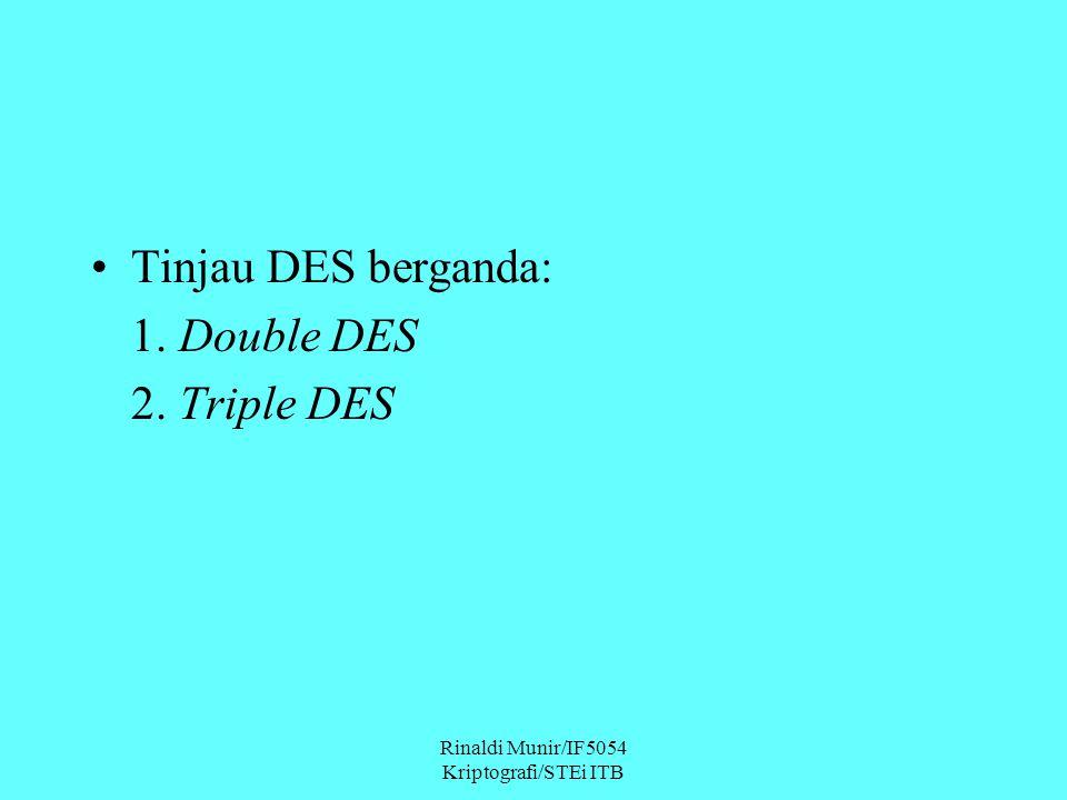 Rinaldi Munir/IF5054 Kriptografi/STEi ITB