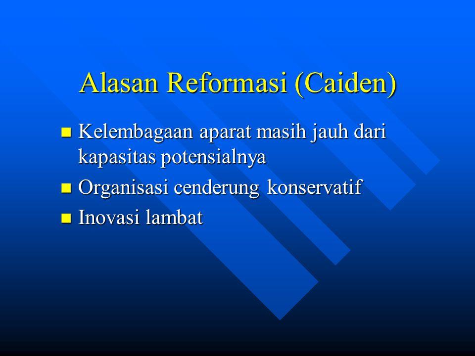 Alasan Reformasi (Caiden)