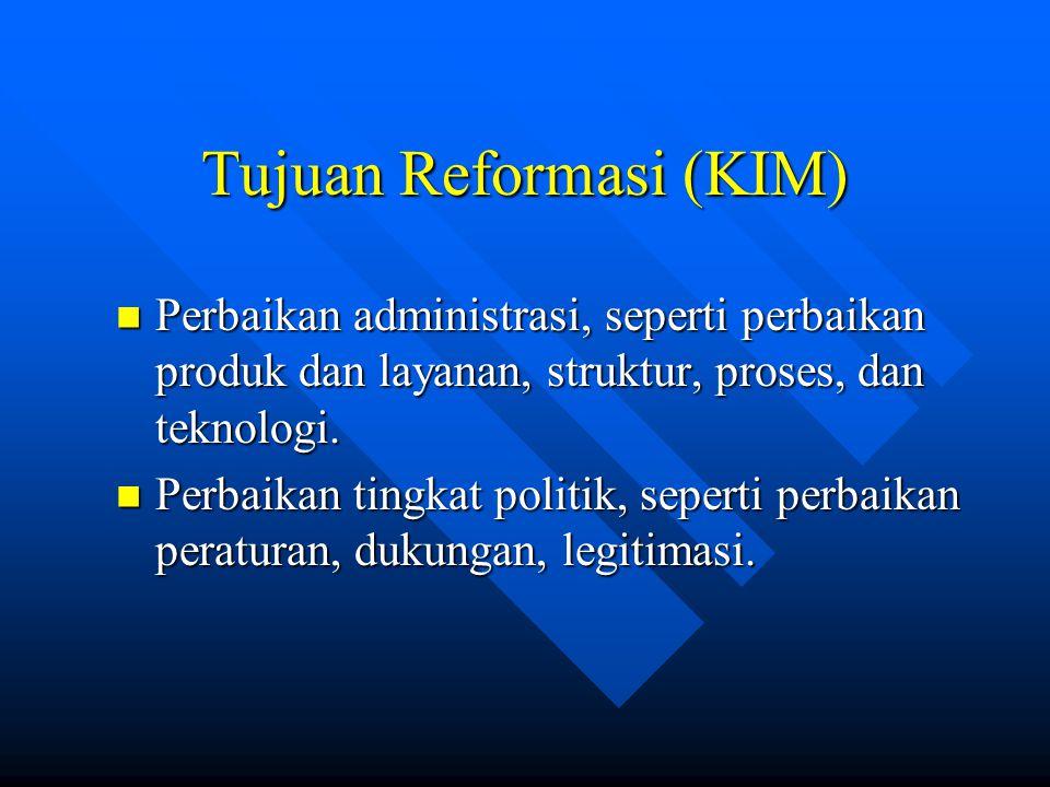 Tujuan Reformasi (KIM)