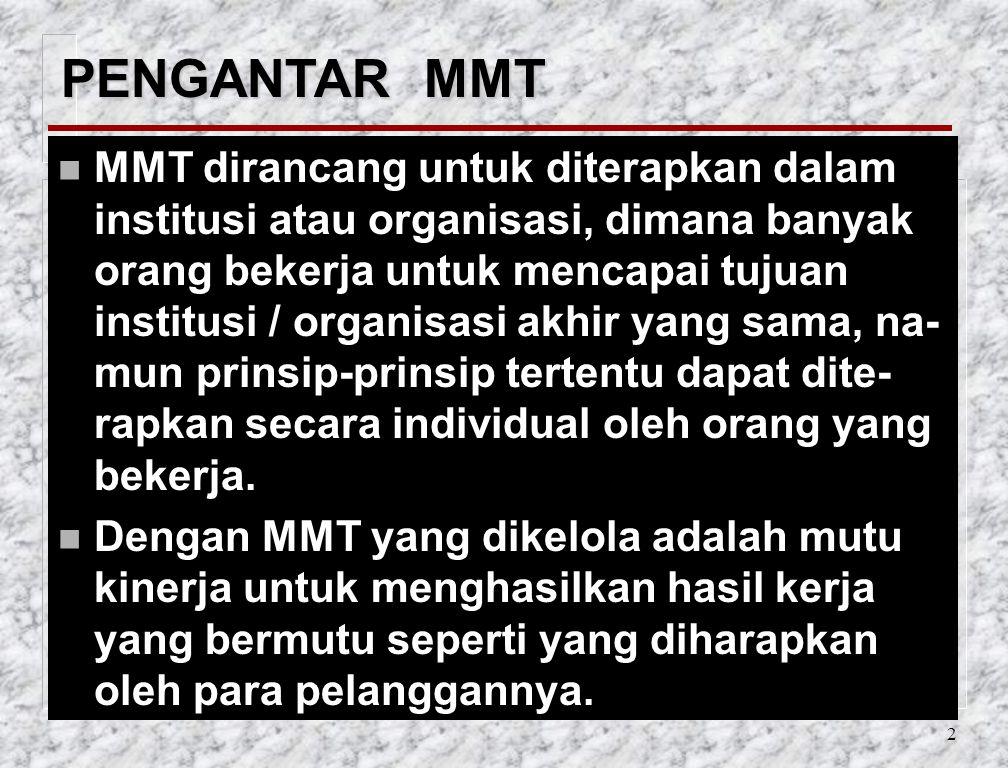 PENGANTAR MMT