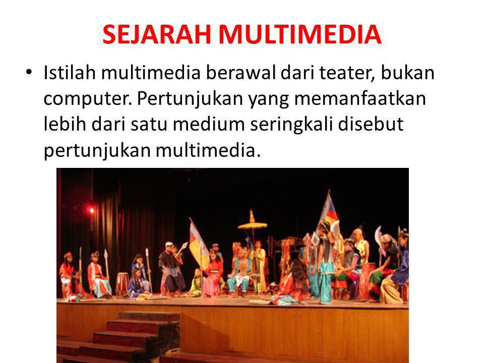 SEJARAH MULTIMEDIA