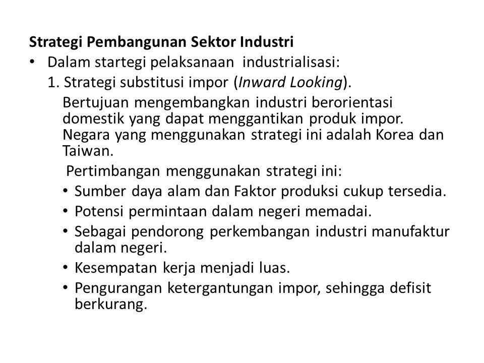 Strategi Pembangunan Sektor Industri