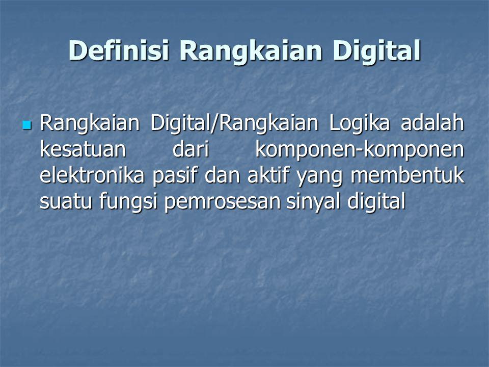Definisi Rangkaian Digital
