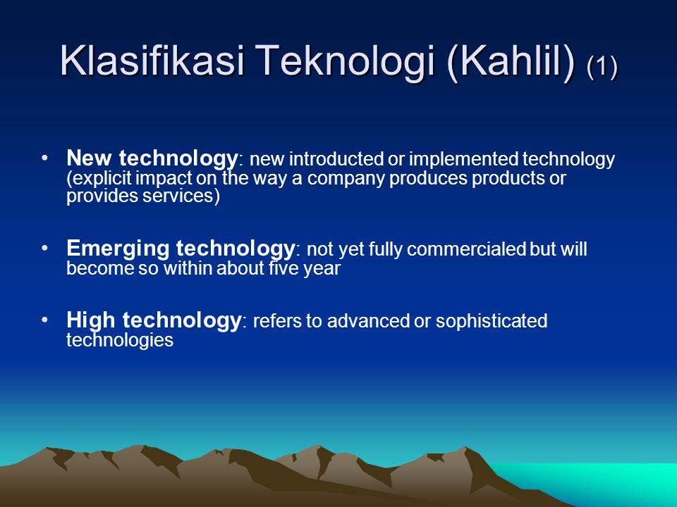 Klasifikasi Teknologi (Kahlil) (1)