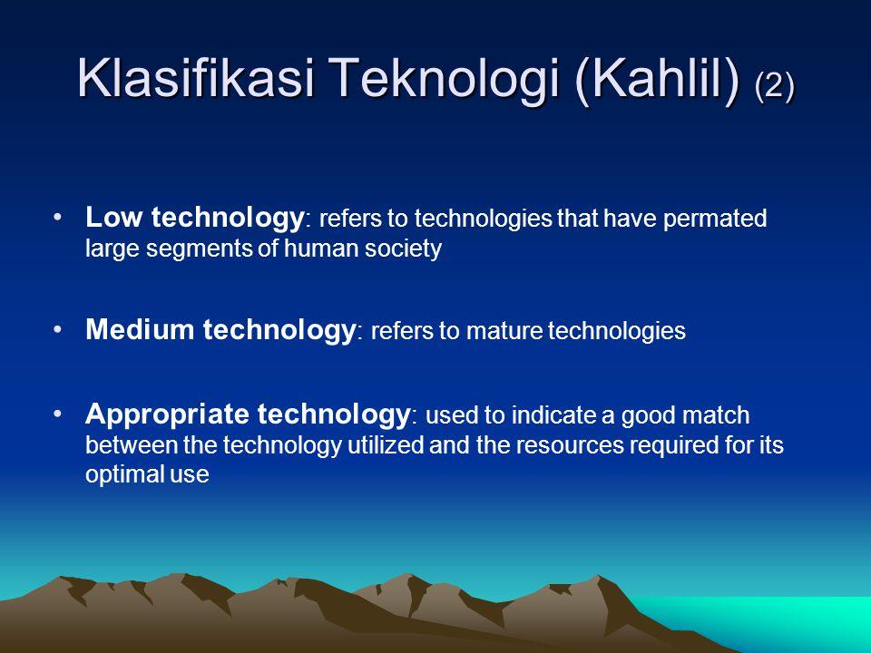 Klasifikasi Teknologi (Kahlil) (2)