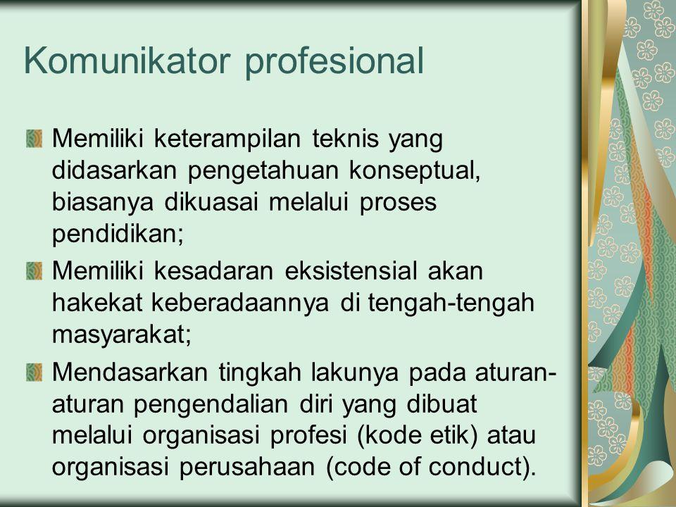 Komunikator profesional