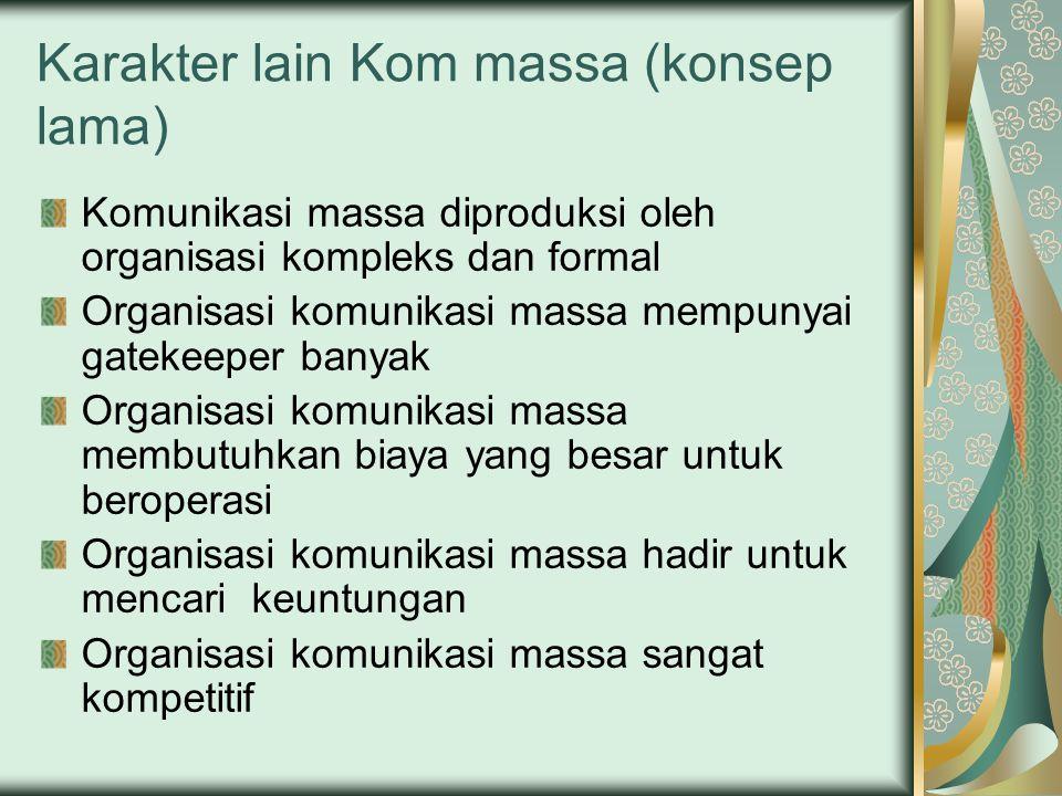 Karakter lain Kom massa (konsep lama)