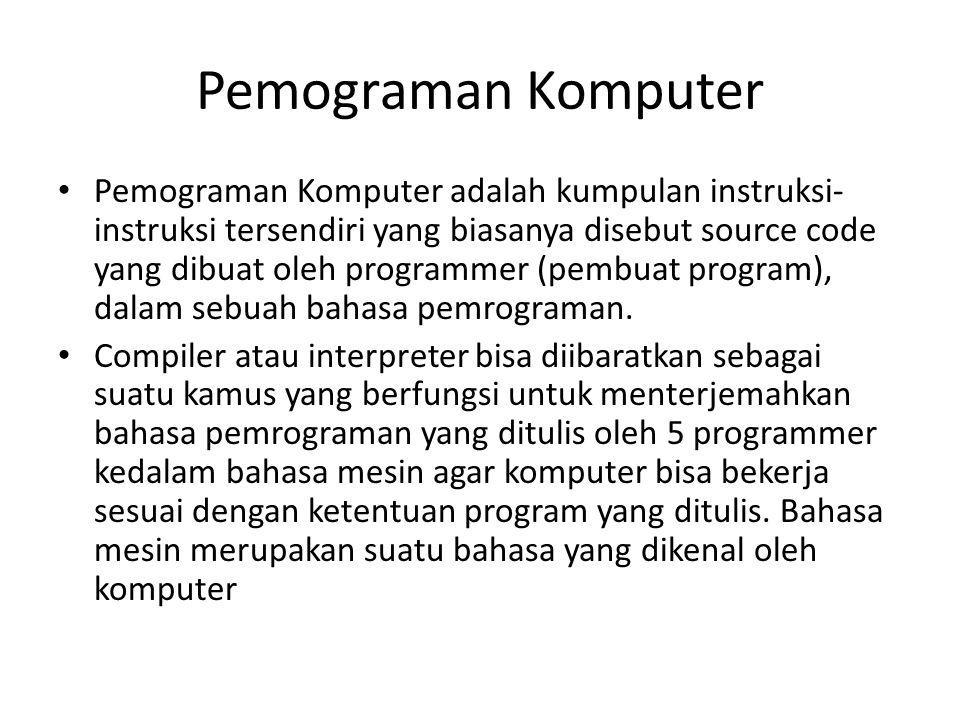 Pemograman Komputer