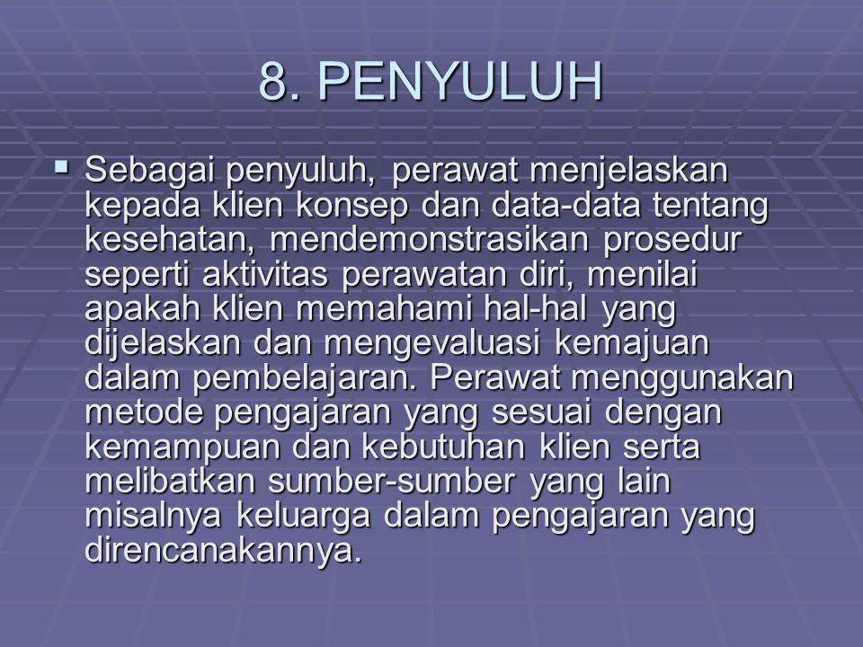 8. PENYULUH