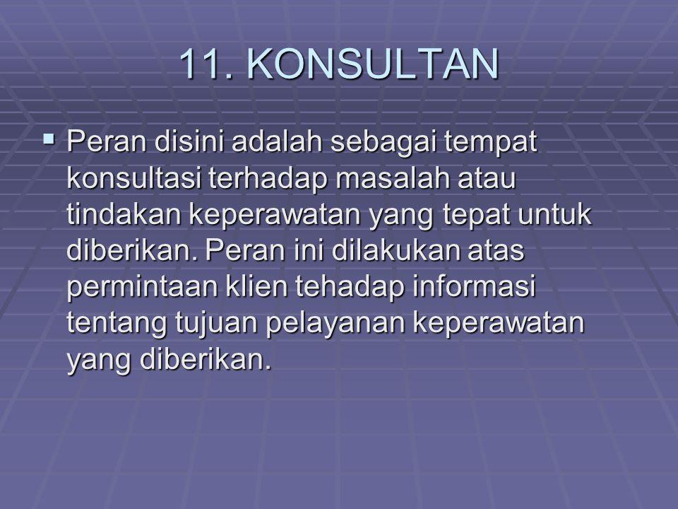 11. KONSULTAN