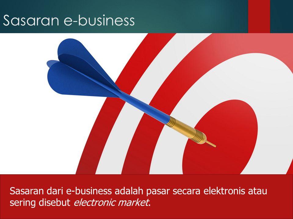 Sasaran e-business