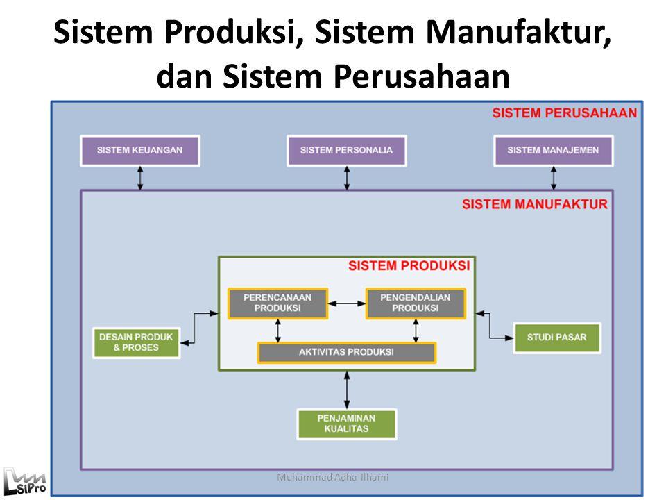 Sistem Produksi, Sistem Manufaktur, dan Sistem Perusahaan
