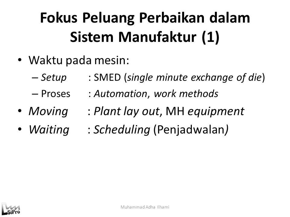 Fokus Peluang Perbaikan dalam Sistem Manufaktur (1)