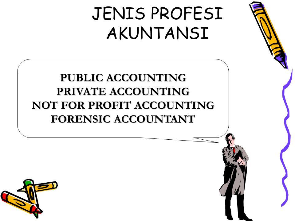JENIS PROFESI AKUNTANSI