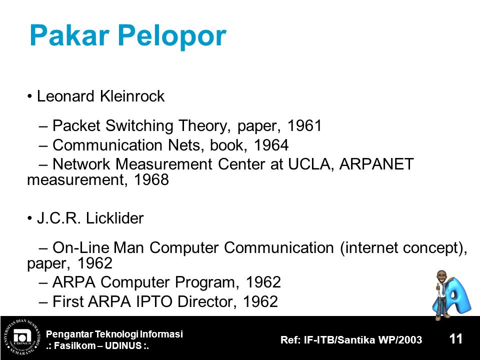 Pakar Pelopor • Leonard Kleinrock
