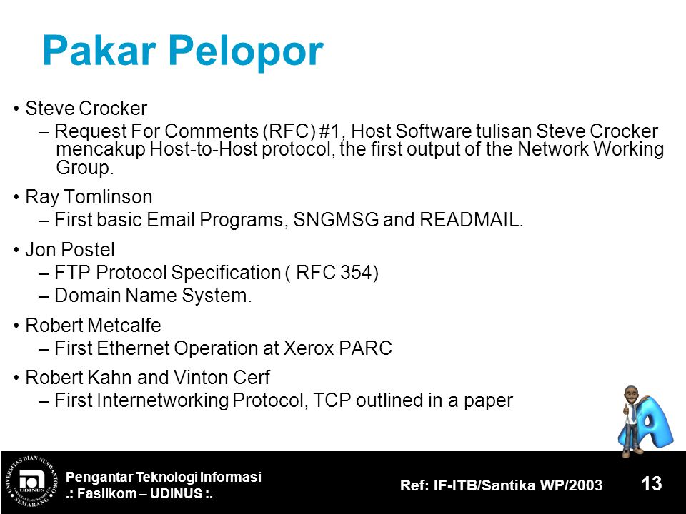Pakar Pelopor • Steve Crocker