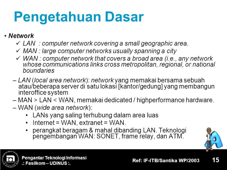 Pengetahuan Dasar • Network
