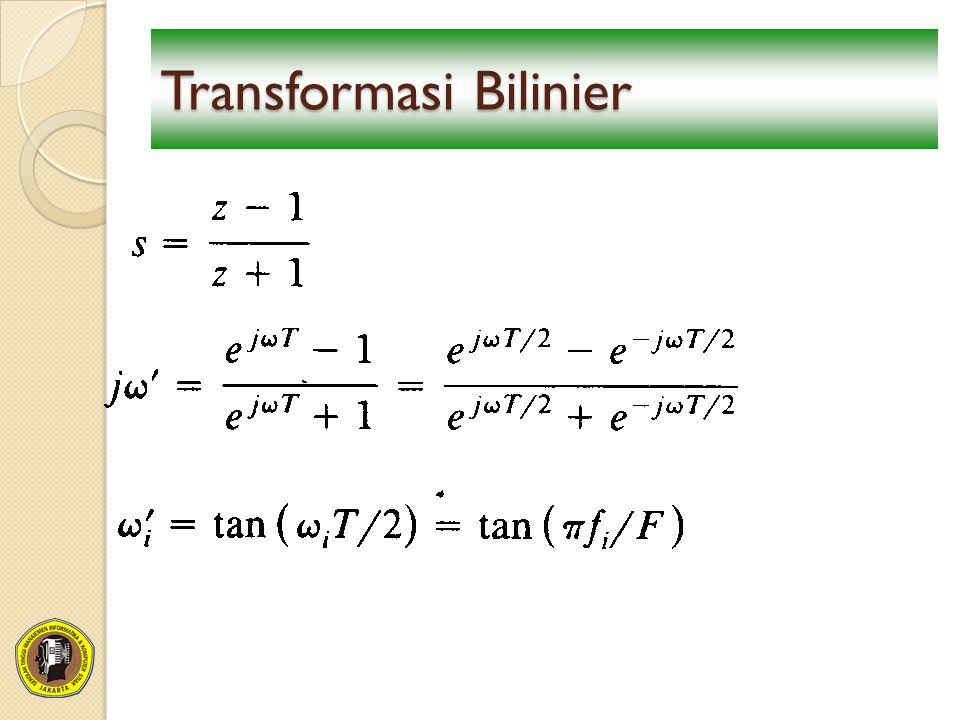 Transformasi Bilinier