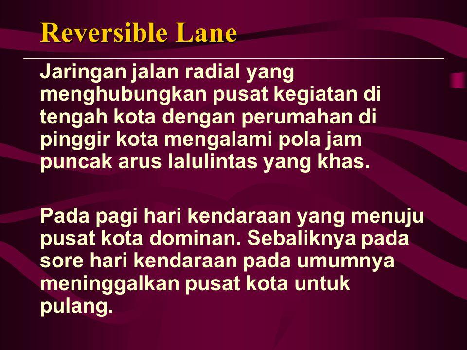 Reversible Lane