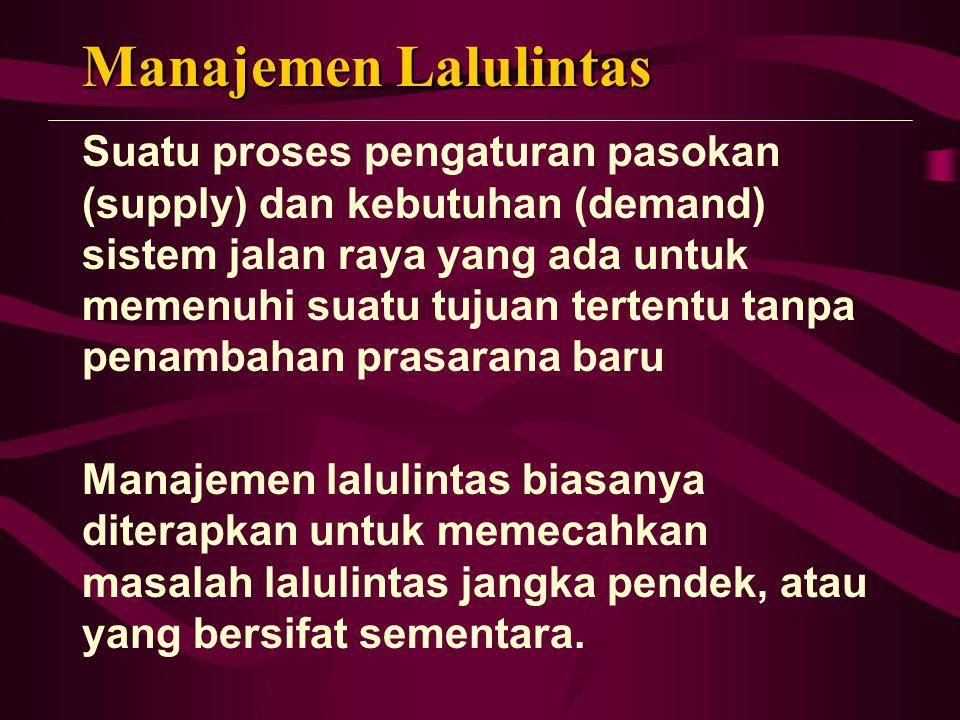 Manajemen Lalulintas