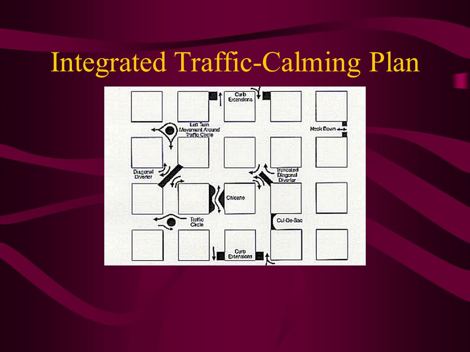 Integrated Traffic-Calming Plan