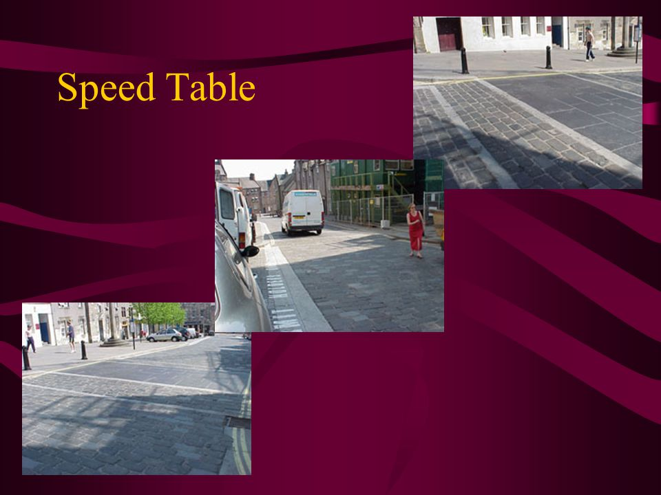 Speed Table